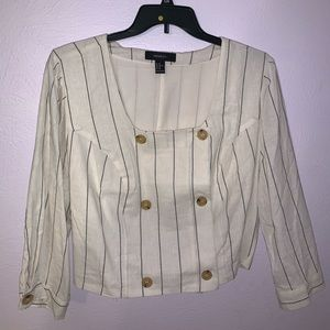 White button blouse, never worn!
